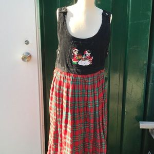 Mickey & Minnie Christmas Long Jumper/Dress